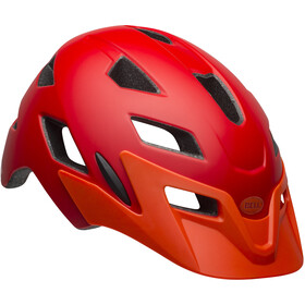 Bell Sidetrack Helmet Kinder matte red/orange